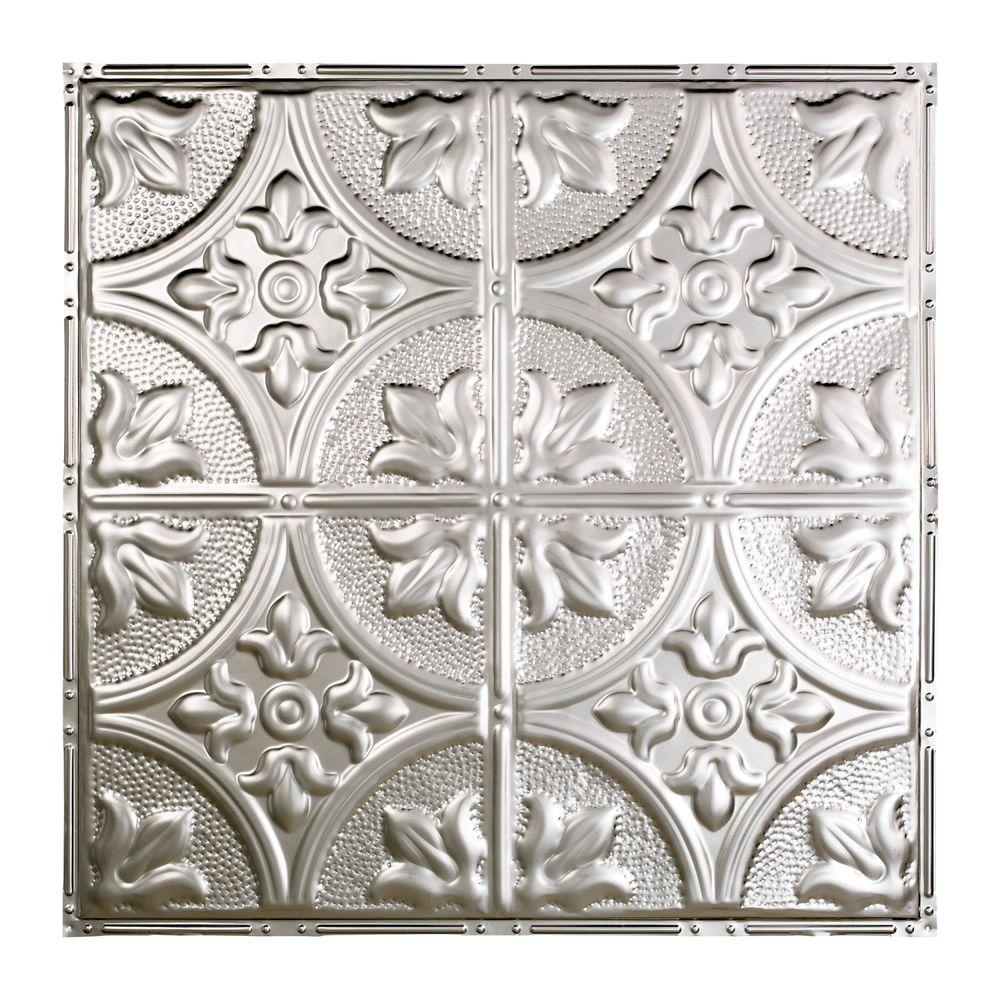 Jamestown 2 ft. x 2 ft. Nail-up Tin Ceiling Tile in