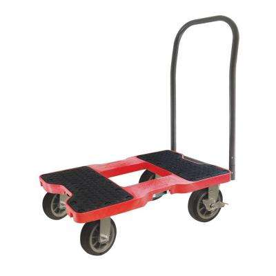 1500 lb. Capacity All-Terrain Push Cart Dolly in Red
