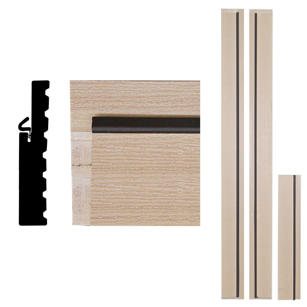 Door frame door frame kits home depot - Frontline 4ever Frame 1 1 4 In X 6 9 16 In X 83 In Primed Woodgrain Composite Door Frame Kit Ulpa30686902 The Home Depot