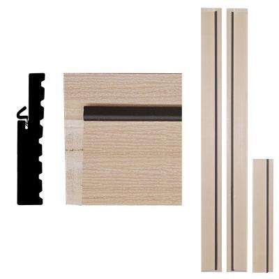 4Ever Frame 1-1/4 in. x 6-9/16 in. x 83 in. Primed Woodgrain Composite Door Frame Kit