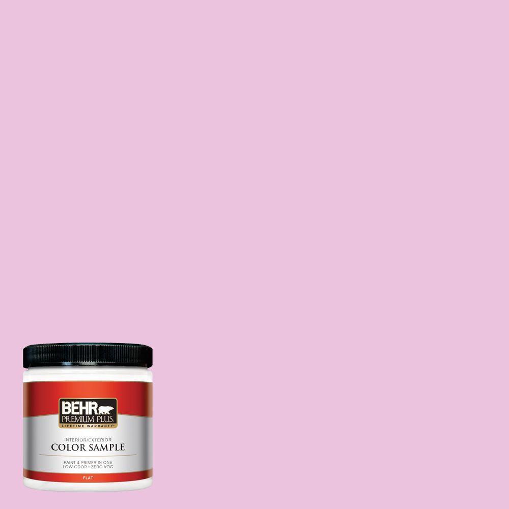 8 oz. #680A-2 Sugar Sweet Interior/Exterior Paint Sample