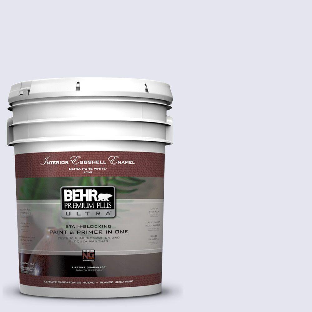 BEHR Premium Plus Ultra 5-gal. #630C-1 Lavender Haze Eggshell Enamel Interior Paint