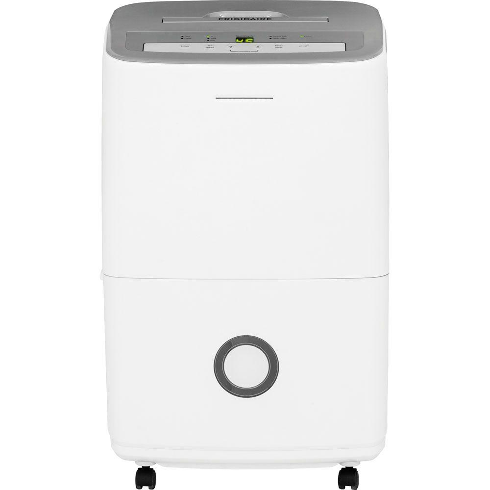 ENERGY STAR 50-Pint Dehumidifier with Effortless Humidity Control