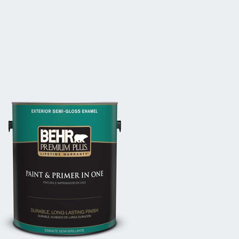 BEHR Premium Plus 1-gal. #560E-1 Little Dipper Semi-Gloss Enamel Exterior Paint