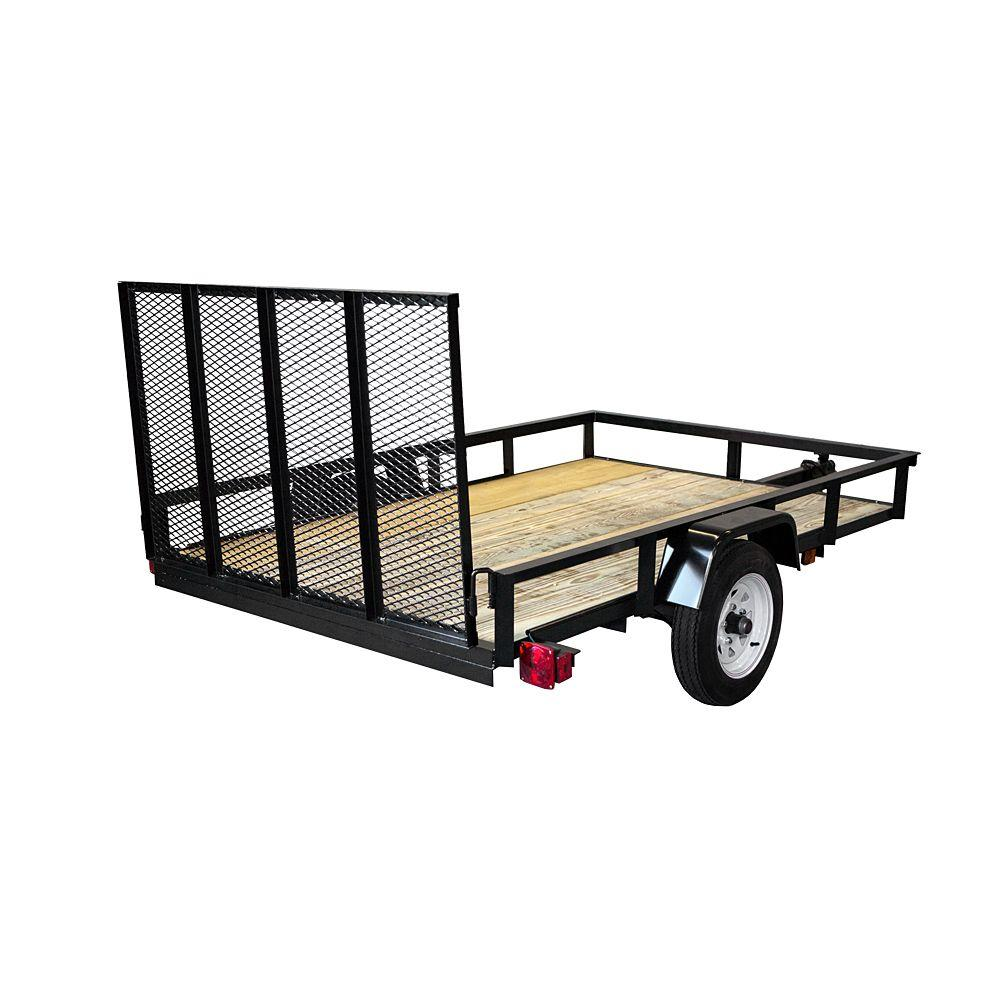 Utility Trailers: Triple Crown 1520 Lb. Capacity 5 Ft. X 8 Ft. Utility
