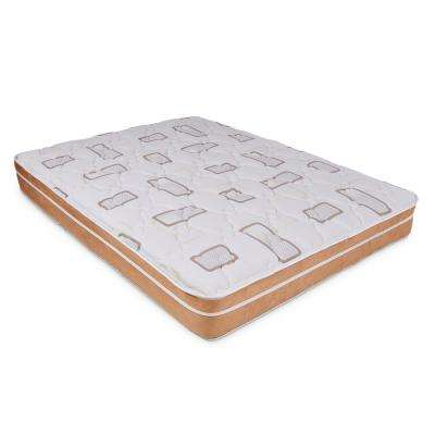 Holladay Eurotop 10 in. Twin Innerspring Mattress