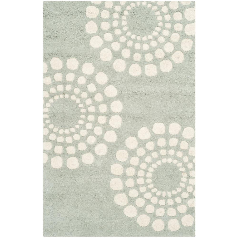 Soho Grey/Ivory 2 ft. 6 in. x 4 ft. Area Rug