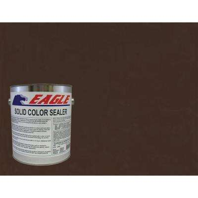 1 gal. Cabernet Brown Solid Color Solvent Based Concrete Sealer