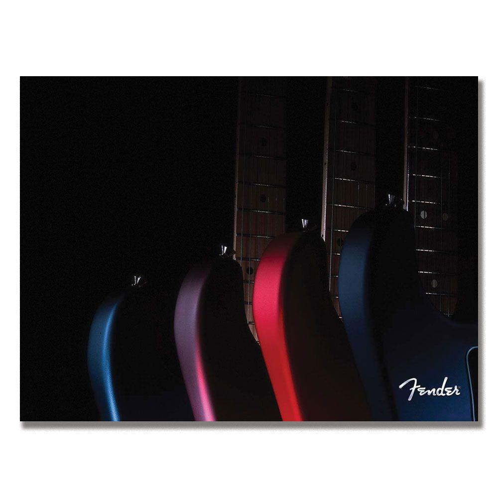 Trademark Fine Art 24 in. x 32 in. Fender Electric Series Canvas Art