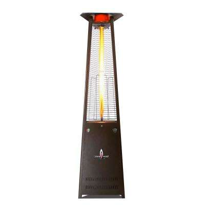 Lavalite A-Line 56,000 BTU 8 ft. Bronze Gas Patio Heater