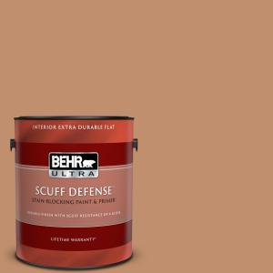 Behr Ultra 1 Gal 260f 5 Applesauce Cake Extra Durable Flat Interior Paint And Primer In One 172401 The Home Depot