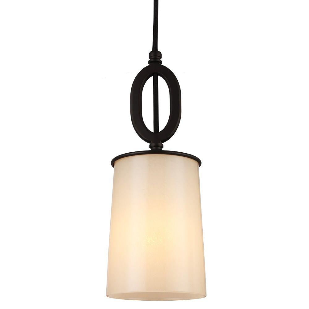 Huntley 1-Light Oil Rubbed Bronze Mini Pendant