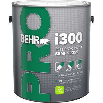 1 gal. i300 White Semi-Gloss Interior Paint