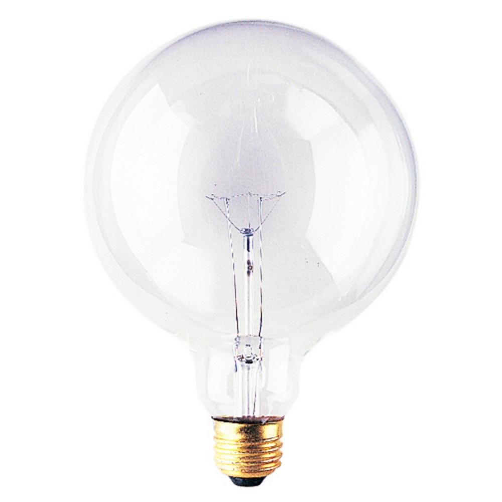 Bulbrite 100 Watt G40 Clear Dimmable Warm White Light Incandescent