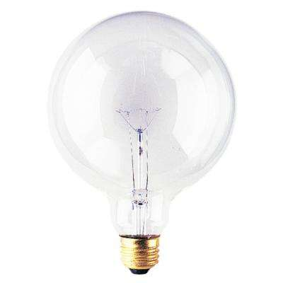 100-Watt G40 Clear Dimmable Warm White Light Incandescent Light Bulb (12-Pack)