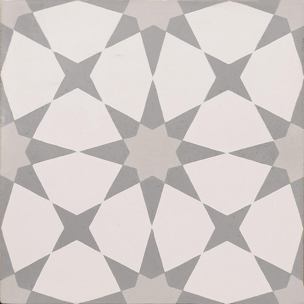 InDesign Cementine Kira 8 in. x 8 in. Durabody Ceramic Floor and Wall Tile (10.76 sq. ft. / case)