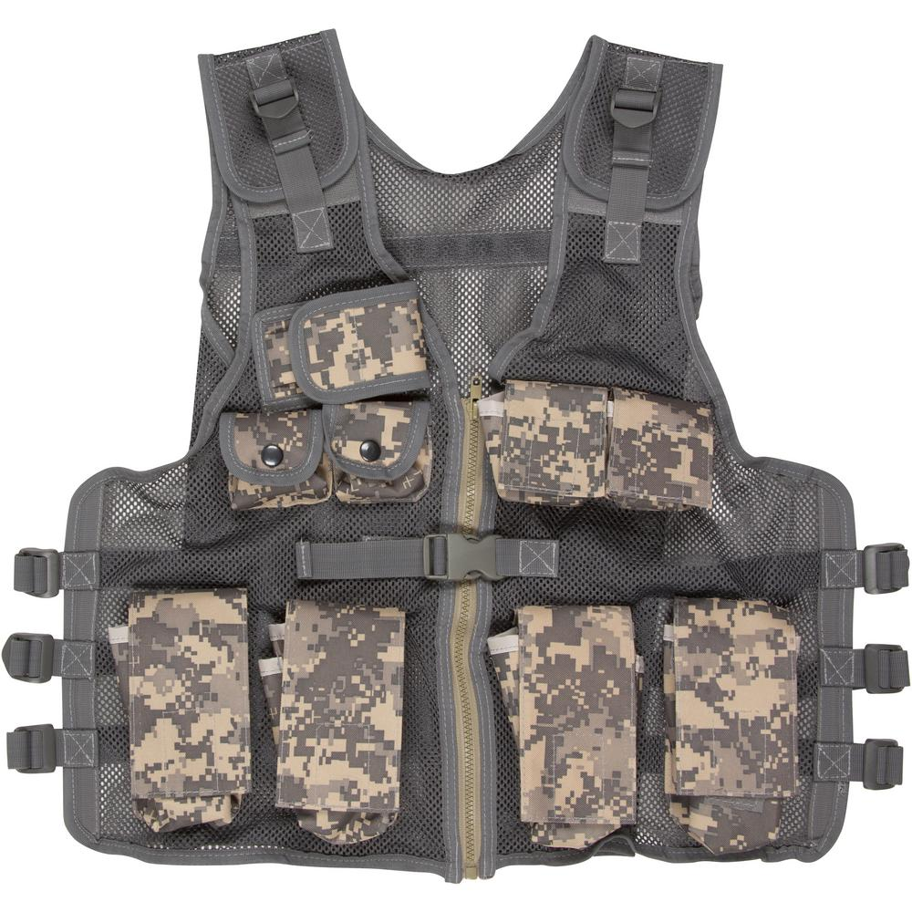 Junior Tactical Vest - Air soft and Paintball Accessory - Fits