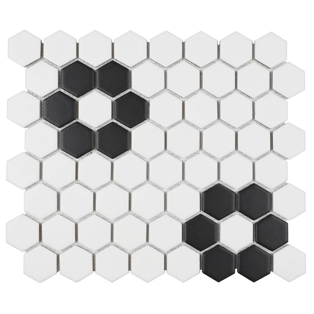 6 35 Mm Glazed Ceramic Mosaic Tile
