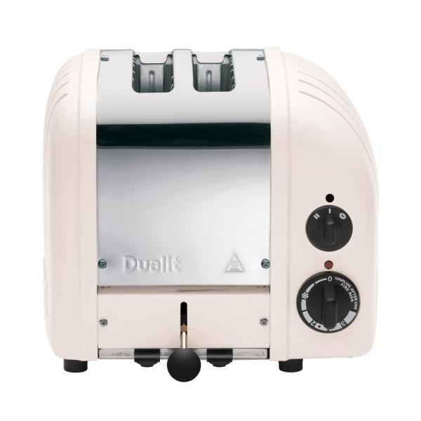 Dualit New Gen 2-Slice Powder Wide Slot Toaster with Crumb Tray