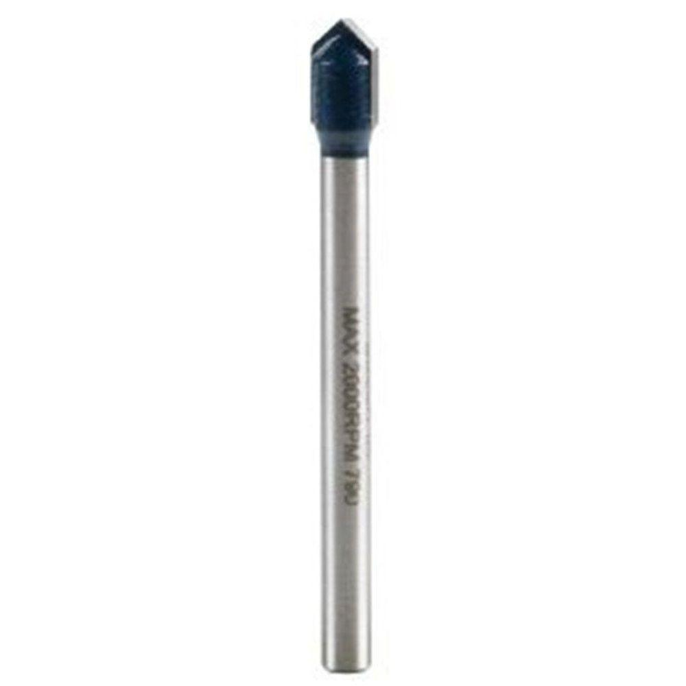 Bosch 1/4 in. Carbide-Tipped Glass and Tile Drill Bit