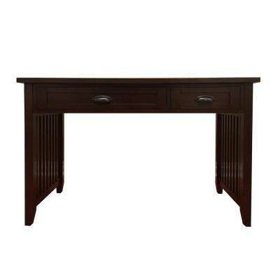 Brookdale Dark Walnut Writing Desk