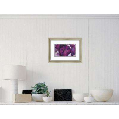 19 in. x 14 in. Outer Size 'Petunias, 1925' by Georgia O'Keeffe Framed Art Print