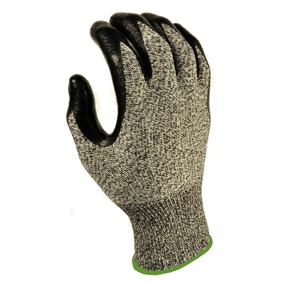 CutShield Medium Grey NitrileTech Cut Slash Puncture Resistant Gloves