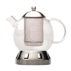 BergHOFF Dorado 5.5-Cup Glass 4-Piece Tea Pot by BergHOFF