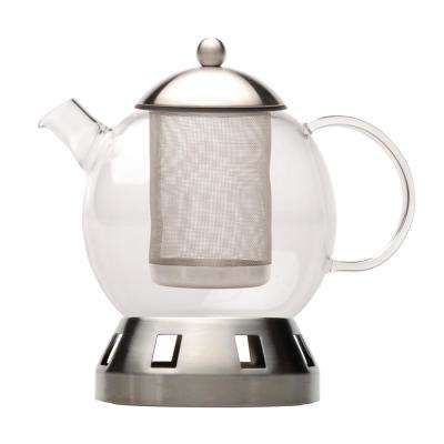 Dorado 5.5-Cup Glass 4-Piece Tea Pot
