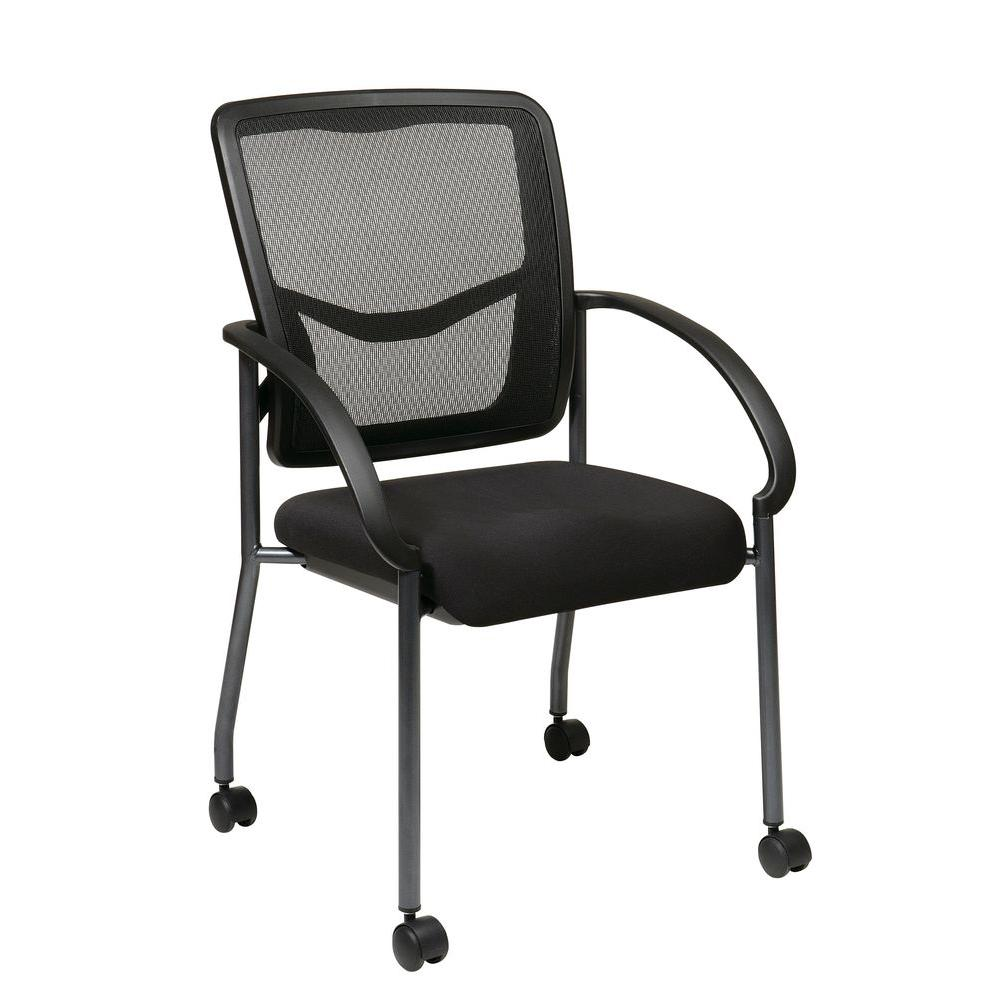 Pro Line Ii Coal Freeflex Rolling Visitor Office Chair