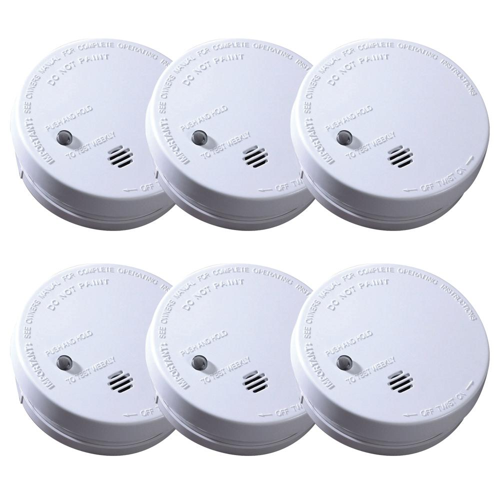 Kidde Code One Battery Operated Smoke Detector With Ionization