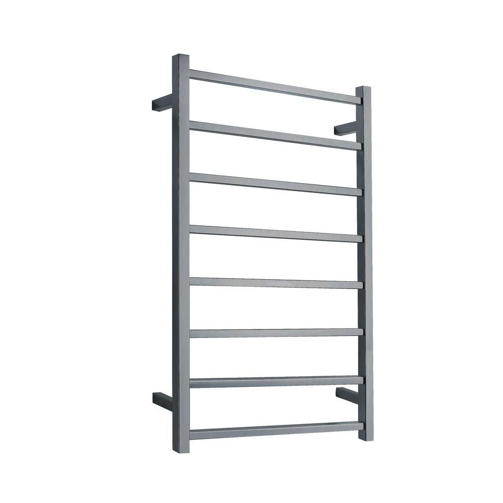 Bell 8-Bar Electric Towel Warmer in Brushed Nickel