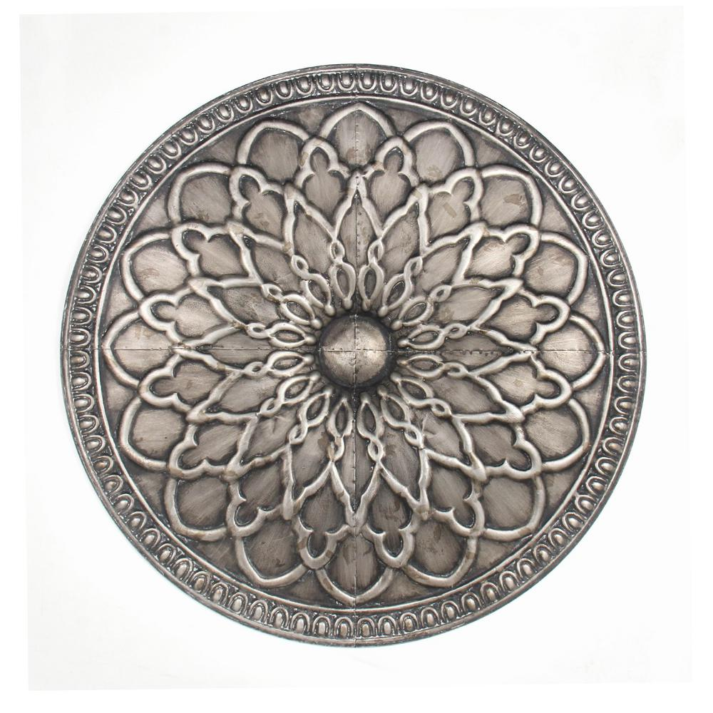 Silver Metal Wall Art