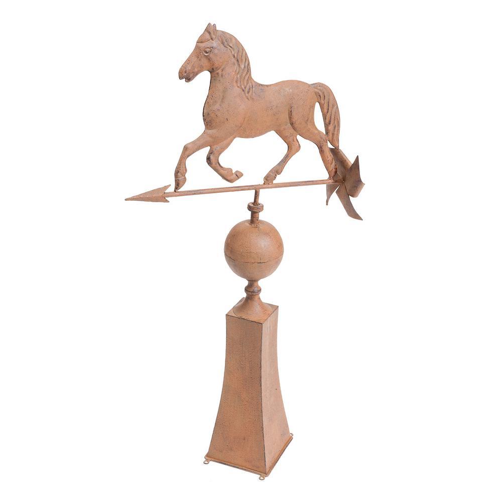 Vintage Horse Weather Vein Garden Statue
