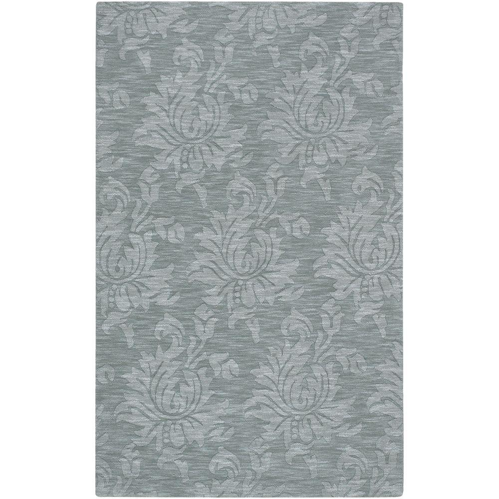 Beth Gray Blue 2 ft. x 3 ft. Accent Rug