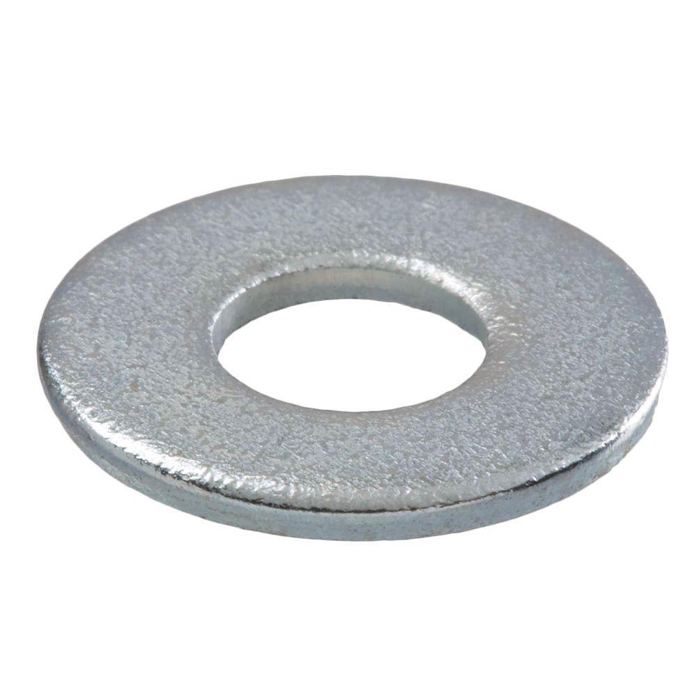 3/8 in. Zinc Flat Washer (100-Pack)