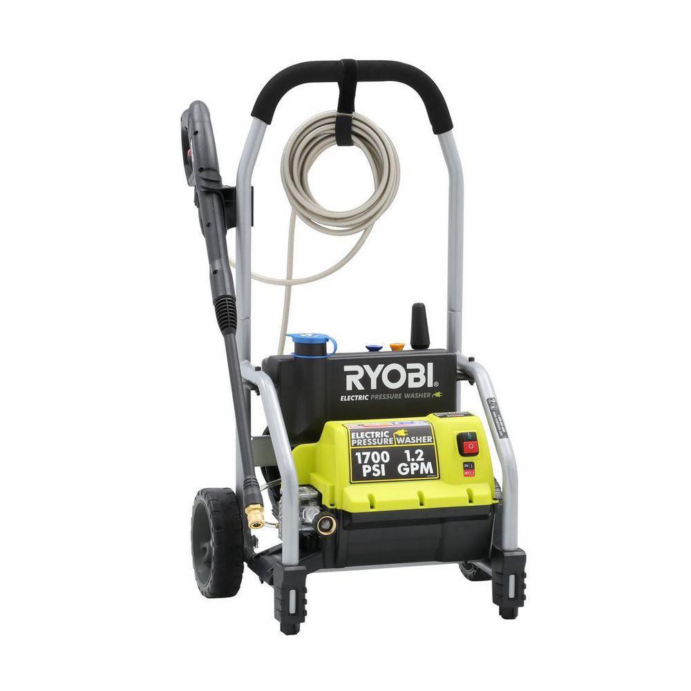 1,700 PSI 1.2 GPM Electric Pressure Washer