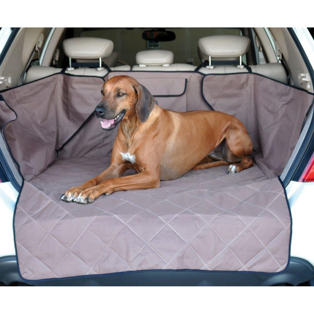 Tan Quilted Cargo Cover