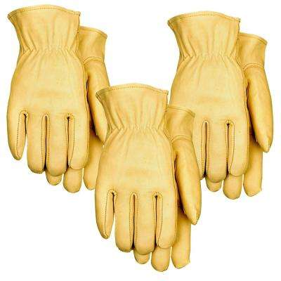 Top Grain Leather Driver 3PK
