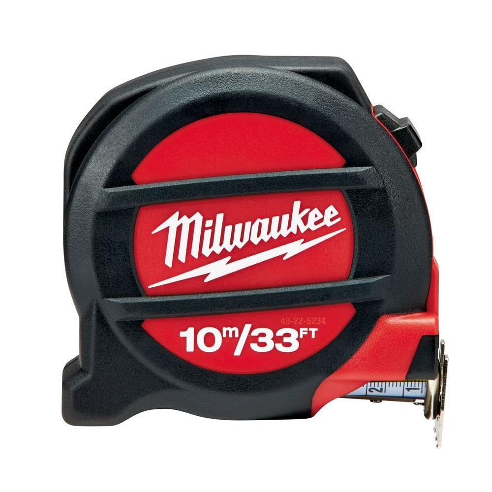Milwaukee 10 m/33 ft. Tape Measure