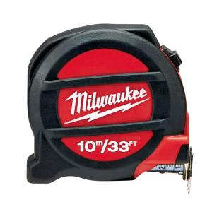 Milwaukee 10 m/33 ft. Tape Measure by Milwaukee