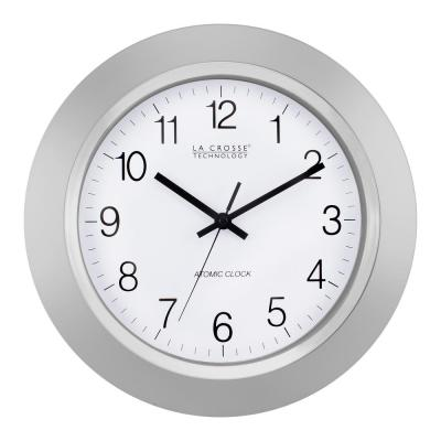 14 in. Atomic Analog Wall Clock