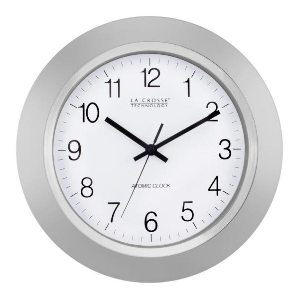 La Crosse Technology 14 in. Atomic Analog Wall Clock WT-3144S