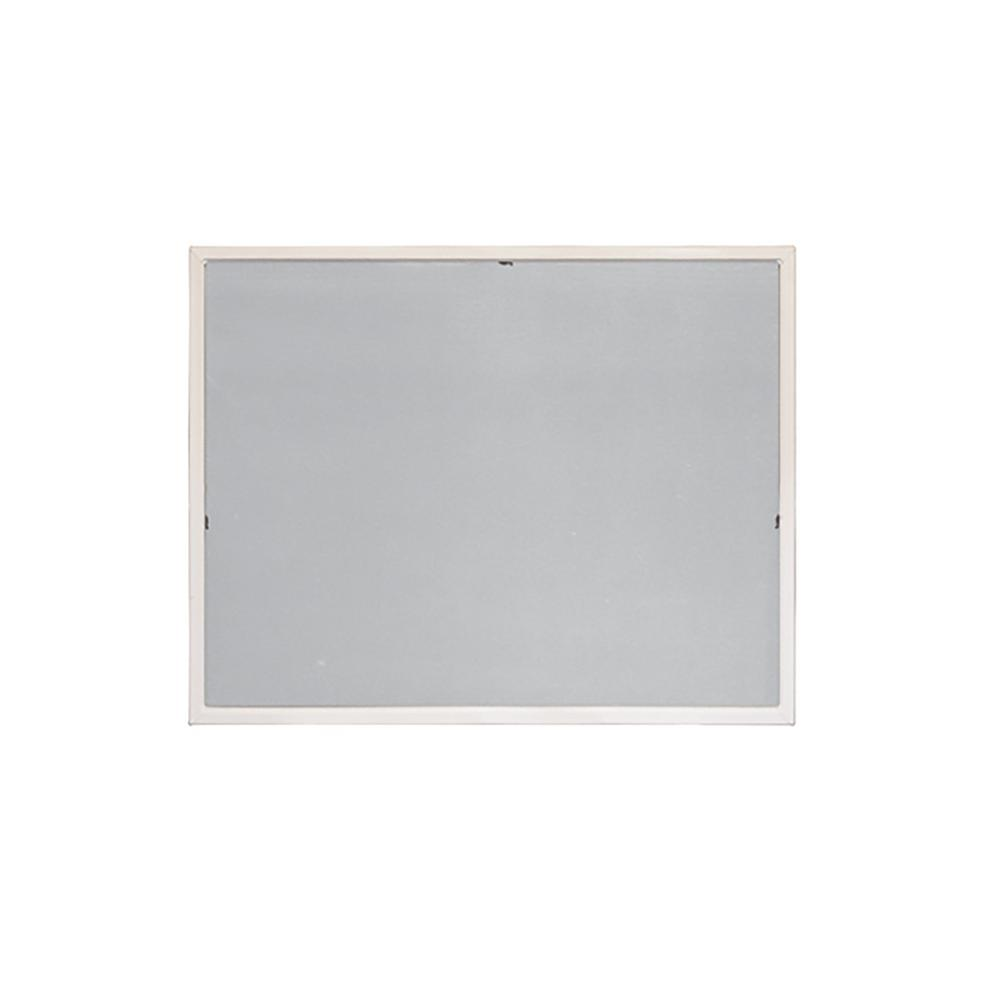 20-5/32 in. x 20-5/32 in. White Aluminum Awning Insect Screen