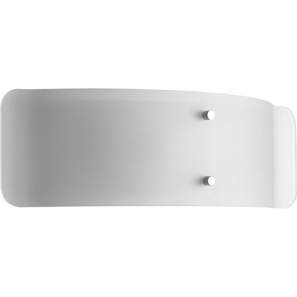 Progress Lighting Helium Collection 2-Light Brushed Nickel Bath Light