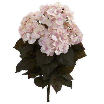 Indoor 20 in. Fall Hydrangea Artificial Plant (Set of 2)