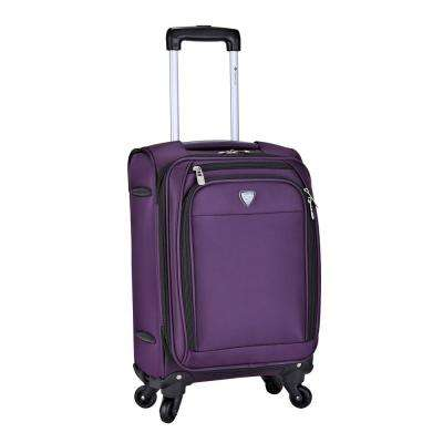 18 in. Expandable Rolling Carry-on with Spinner Wheels