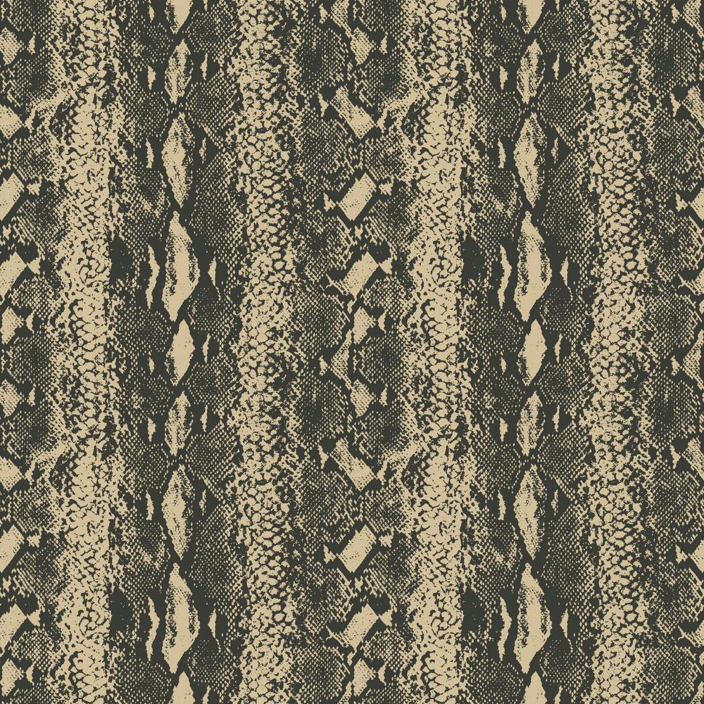 Roommates Snake Skin Vinyl Peelable Wallpaper Covers 28 18 Sq Ft Rmk10691wp The Home Depot