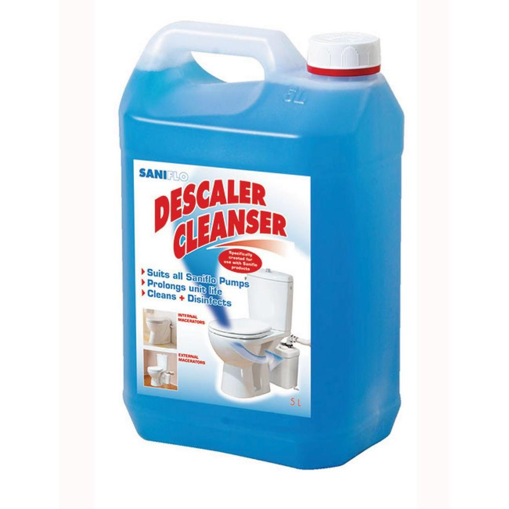 Saniflo Descaler Cleaning Liquid for Pumps-052 - The Home Depot