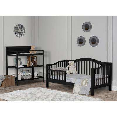 Austin Black Toddler Adjustable Day Bed